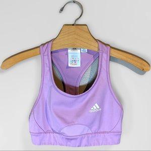 Adidas Sports Bra Lavender Size S